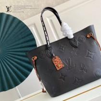 M45686-02  購物袋 豹紋系列 NEVERFULL 中號手袋