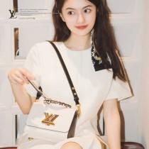 M58546 米白色小號原單Twist手袋
