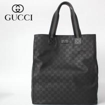 449177 GUCCI古馳男女通用原單購物袋GG Supreme 帆布織帶購物包