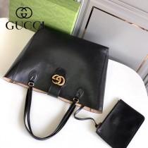 649577-02   GUCCI古馳新款原版皮購物袋