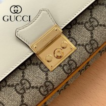 658226-02   Gucci古馳 Padlock系列原版皮鏈條包