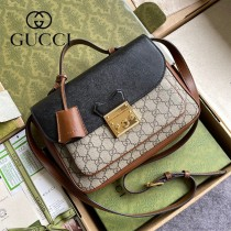 644527-01   Gucci古馳Padlock系列小號原版皮肩背包