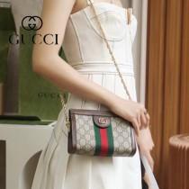 602676  Gucci 原單頂級版 Ophidia夾子包最新系列鏈條包小號
