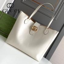 649577-01   GUCCI古馳新款原版皮購物袋