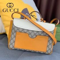 644527-02   Gucci古馳Padlock系列小號原版皮肩背包