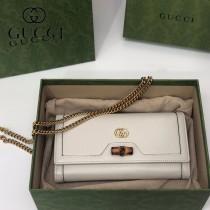 658243-02   GUCCI Diana 原单鏈條包鏈錢包