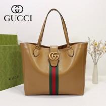 649577-03   GUCCI古馳新款原版皮購物袋
