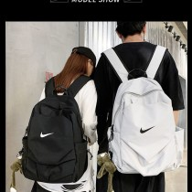 NIKE書包男雙肩包男士背包高中學生大學生書包百搭校園旅行電腦包潮牌