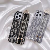 絨布腕帶滿屏Dior1211ProMax蘋果XXSXR手機殼iPhone7潮8plus