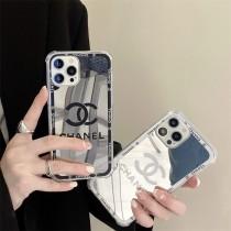 CHANEL 香奈兒鏡面奢華大牌1211ProMax蘋果XXSXR手機殼iPhone7情侶8plus軟