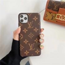 LV GUCCI 蘋果11手機殼皮紋iPhone78plus全包大牌xxrxsmax磨砂12Pro男女通用