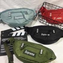 SUP新款潮牌腰包戶外運動手機包胸包單肩包大容量斜跨包ins超火包
